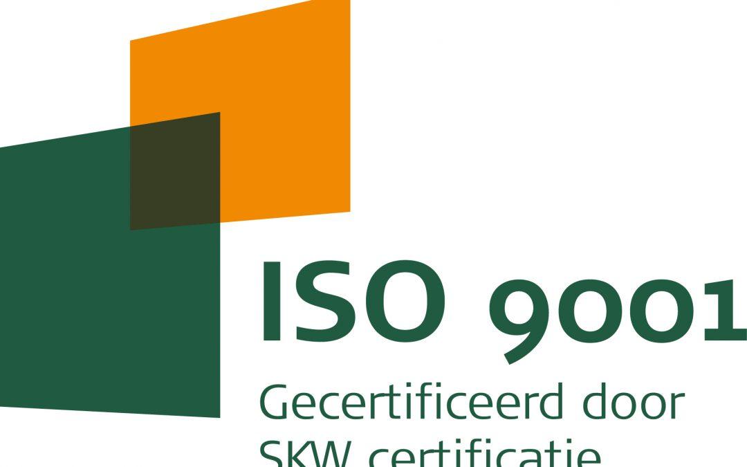 Verlenging ISO 9001 certificaat