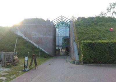Entreegebouw Geofort Herwijnen