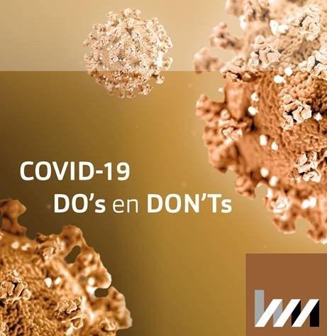 Ventilatie installaties in gebouwen en het risico op besmetting van COVID-19
